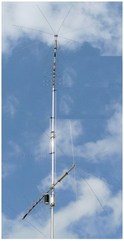 MFJ-1799 1本で3.5-144MHz 10バンダー究極のノンラジアルバーチカル