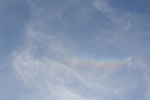 ツインフレームの虹の祝福