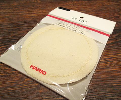 ハリオ サイフォン ろか布(5枚入) FS-103