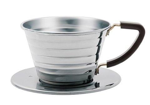 Kalita ウェーブドリッパー 【1~2人用】フィルター&コーヒー豆付き
