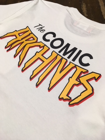 COMIC ARCHIVES POCKET T-shirts