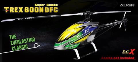 T-REX 600 Nitro DFC Super Combo RH60N01XW