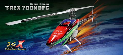 T-REX 700 Nitro DFC Super Combo RH70N01XW