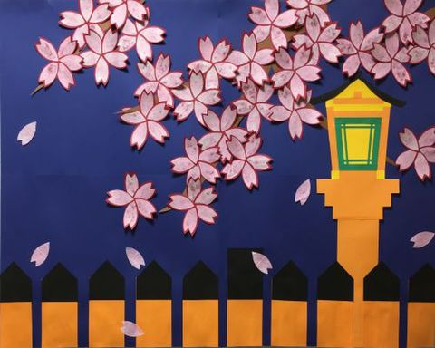 みんなで作る制作セット「祇園の夜桜」