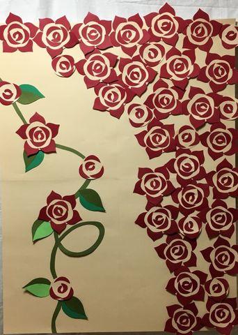 みんなで作る制作セット 「真紅のバラ」