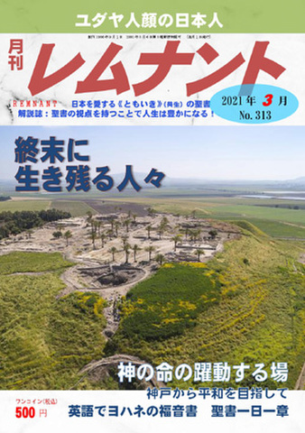 月刊レムナント2021年3月号(No.313)