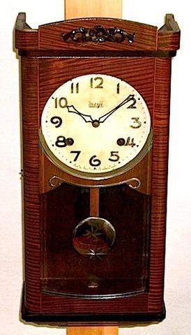 明治時計 スリゲル型 昭和20年代後半【W002】