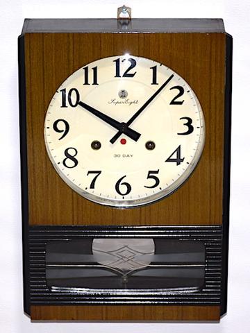 愛知時計 Super Eight 30Day 昭和38年【W259】