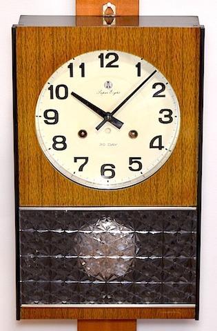 愛知時計 Super Eight 30Day 昭和30年代後半【W196】