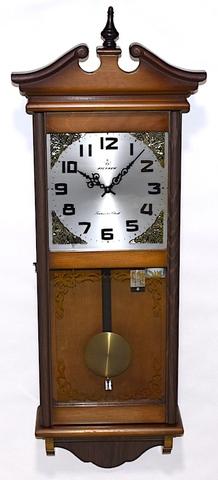 愛知時計 大型トランジスタ柱時計 AICHRON 昭和40年代【W270】