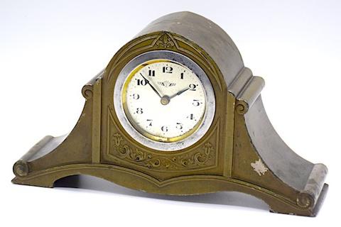 KIENZLE(ドイツ) 金属枠置時計 1920〜30年代頃【060】