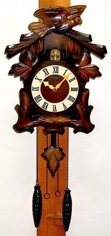 CITIZEN 木製鳩時計 昭和52年【W081】