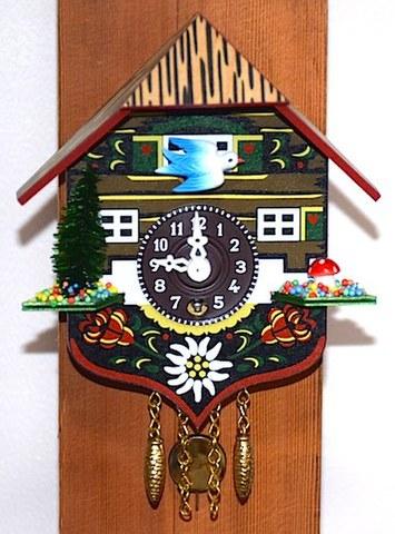 Engstler(ドイツ) ミニサイズ鳩時計 【W176】