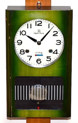 リズム時計工業 Rhythm Family 30DAY 昭和40年代【W217】