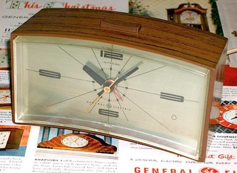 GENERAL ELECTRIC(アメリカ) アラームクロック Model7355K  1960年代【E035】