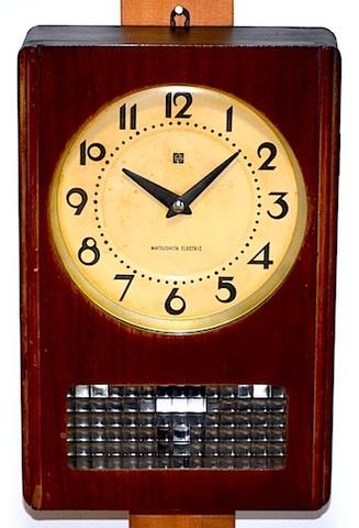 ナショナル バッテリークロック NBC-1000 昭和40年代【W152】