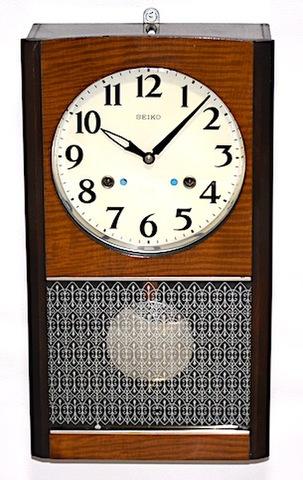 SEIKO 箱型柱時計 30DAY 昭和40年頃【W261】