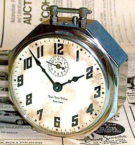 NEW HAVEN(アメリカ) True Time Tellers Tom-Tom 1920年代【095】
