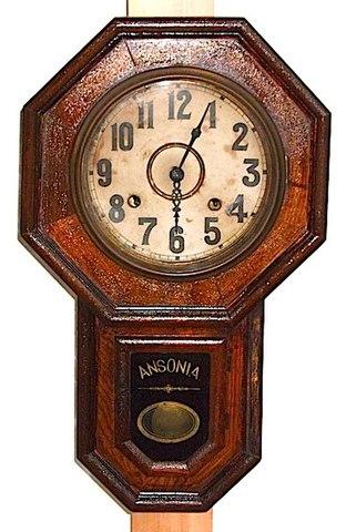 ANSONIA Drop Octagon 1890〜1900年頃【W014】