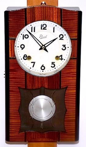 Pearl(パール) 箱型柱時計 昭和20年代後半~30年代前半【W140】