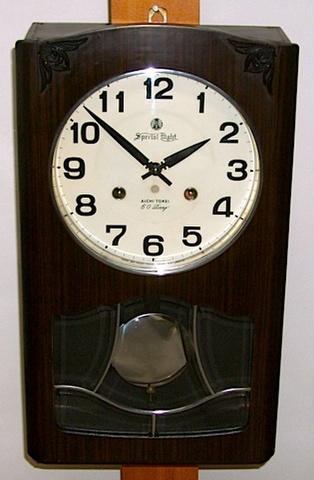 愛知時計 Special Eight 60Day 昭和30年代後半【W077】