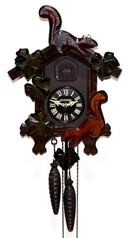 御研機器株式会社 木製鳩時計 CUCHOO 昭和40年頃【W232】