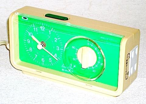 日立 タイマー時計TW-400(箱・説明書付) 昭和50年代【E014】