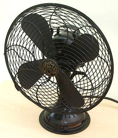 芝浦製作所製 交流電氣扇(扇風機) 昭和初頭頃【S038】