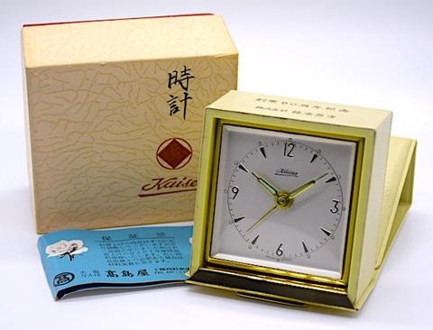 KAISER(ドイツ) カバー付スクエアタイプ 箱・保証書付 1965年【005】