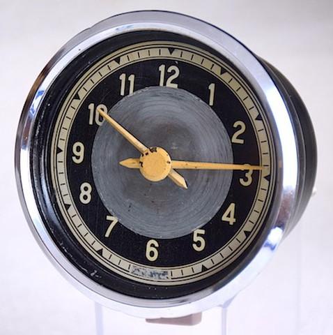 車載用機械式アナログ時計 1950年代【056】