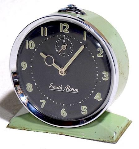 SMITHS(イギリス) 丸型台座付タイプ 1950年代【065】