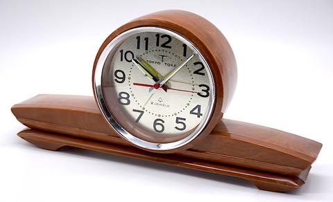東京時計 飛行機型目覚時計 No.1822『マイチャーム』 昭和40年代【034】