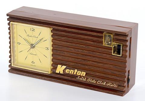 KENTON(香港) 時計付AMラジオ 1970年代頃【048】