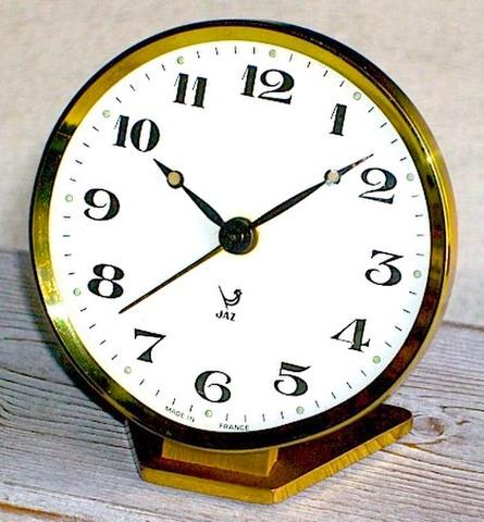 JAZ(フランス)ミニサイズ目覚時計 1967〜75年【041】