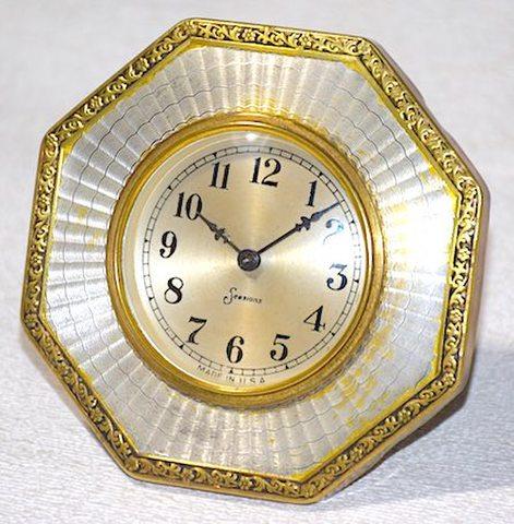 SESSIONS CLOCK(アメリカ) オクタゴンタイプ 1920年代頃【043】