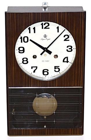 愛知時計 Super Eight 30Day 昭和30年代後半頃【W268】
