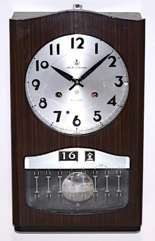 愛知時計 Aichi Calendar 30DAY 昭和30年代後半【W229】