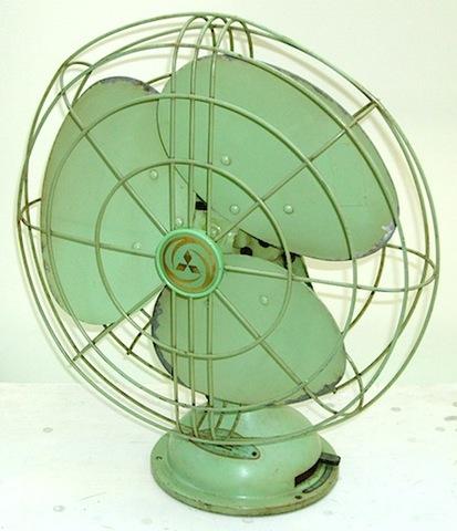 三菱電機 電気扇風機(A.C. ELECTRIC FAN) 昭和20年代半ば頃【S045】