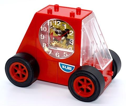 SEIKO  レゴブロック型目覚時計『CORO(コロ)FE801R』 外箱・説明書付 昭和40年代【049】