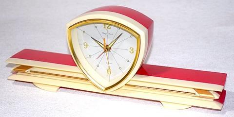東京時計 飛行機型目覚時計 昭和40年代【029】