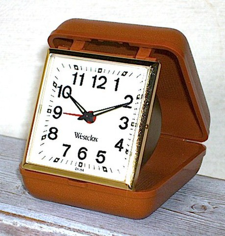 WESTCLOX(アメリカ)トラベルクロック 説明書付 1960年代【046】