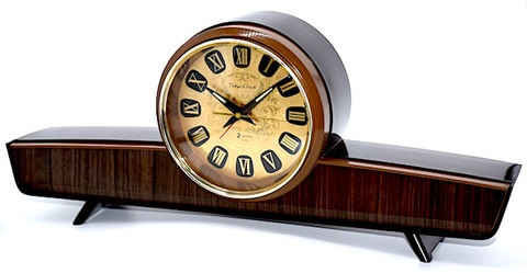 東京時計 飛行機型目覚時計 No.1785『コメット』箱付 昭和40年代【012】