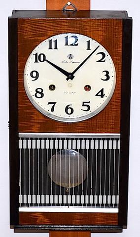 愛知時計 Superior 30DAY 昭和30年代後半【W184】