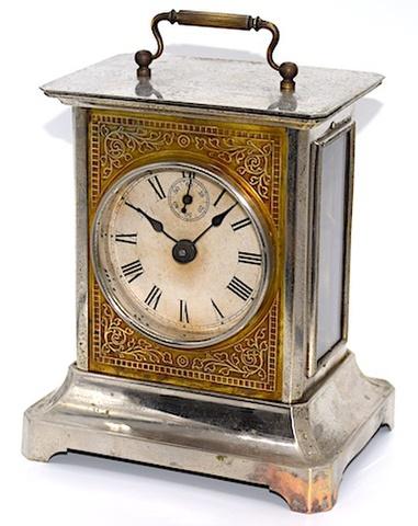 精工舎 角形時打置時計 大正時代初期〜中期頃【K025】