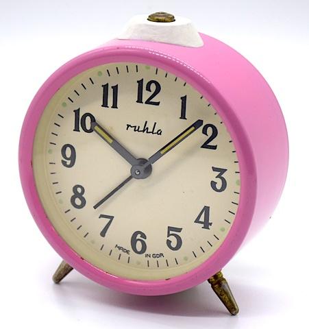 RUHLA(ドイツ) ミニサイズ目覚時計 1960年代【038】