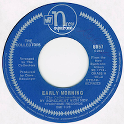 THE COLLECTORS / EARLY MORNING