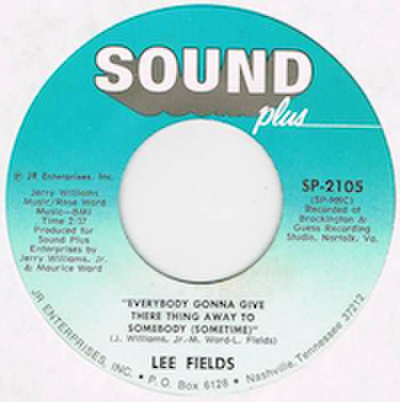 LEE FIELDS / EAST COAST RAPPER