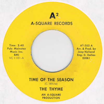 THYME / TIME OF THE SEASON