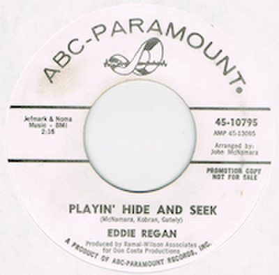 EDDIE REGAN / PLAYIN' HIDE AND SEEK