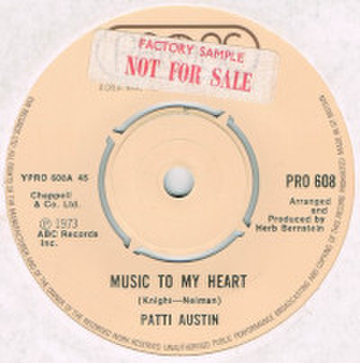 PATTI AUSTIN / MUSIC TO MY HEART